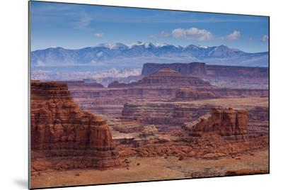 The Rugged Canyons of Canyonlands National Park Seen from the White Rim Trail Near Moab, Utah-Sergio Ballivian-Mounted Photographic Print