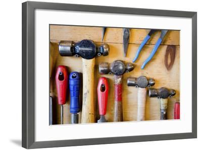The Handcrafted Process of Creating a One of a Kind Chef Knife-Daniel Kuras-Framed Photographic Print