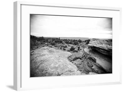 Riding Through Moab, Utah-Matt Jones-Framed Photographic Print