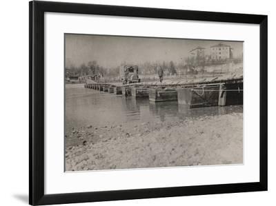 Boardwalk at Gradisca D'Isonzo--Framed Photographic Print