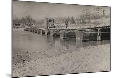Boardwalk at Gradisca D'Isonzo--Mounted Photographic Print
