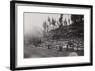 World War I: Cemetery of the Twelfth Division--Framed Photographic Print