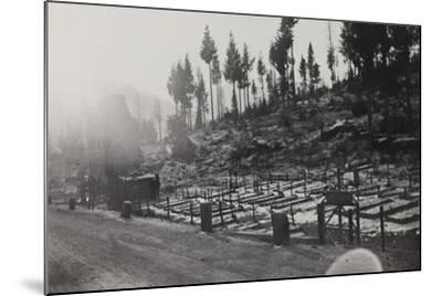 World War I: Cemetery of the Twelfth Division--Mounted Photographic Print