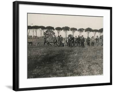 Hunters-Luigi Leoni-Framed Photographic Print
