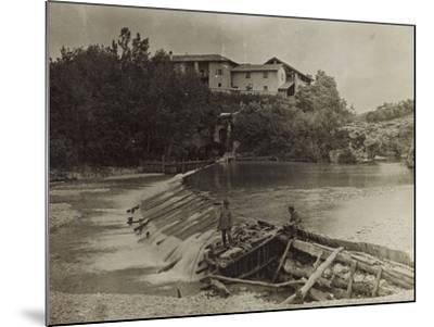 Mill on the River Natisone in Premariacco During the First World War-Luigi Verdi-Mounted Photographic Print
