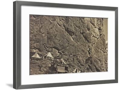 World War I: Encampment Alpine--Framed Photographic Print