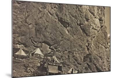 World War I: Encampment Alpine--Mounted Photographic Print