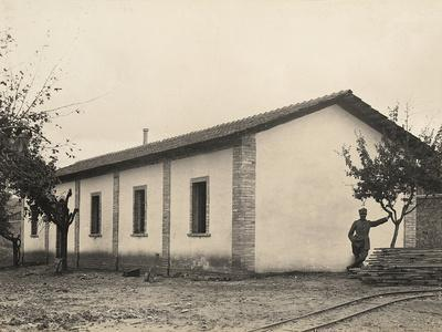 Surveillance Troops' Kitchen and Refectory in the Servigliano Camp, Province of Ascoli Piceno--Framed Photographic Print