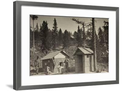 World War I: Place Phone--Framed Photographic Print