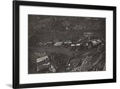 First World War: Field Hospital and Military Health Care in the Valley of Santa Barbara--Framed Photographic Print