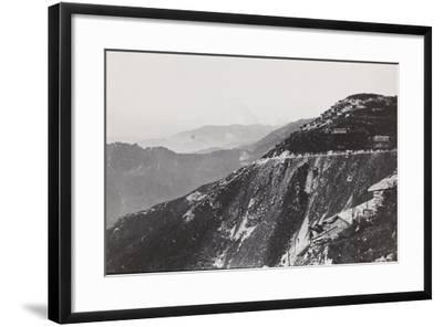 World War I: Trail from Mount Novegno to Mount Summano--Framed Photographic Print