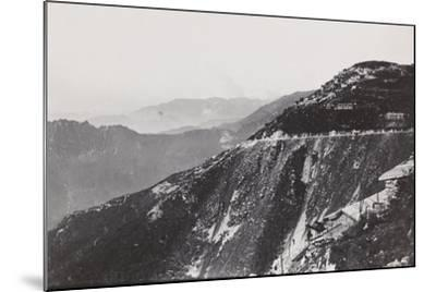 World War I: Trail from Mount Novegno to Mount Summano--Mounted Photographic Print