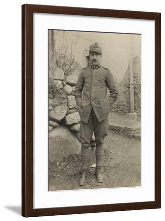 World War I: Portrait of Official--Framed Photographic Print