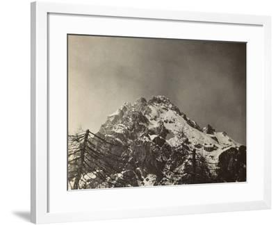 World War I: The Top of the Antelao--Framed Photographic Print