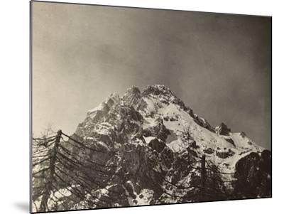 World War I: The Top of the Antelao--Mounted Photographic Print