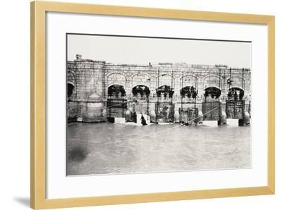 The Sluices on the Isonzo River at Sagrado During World War I-Ugo Ojetti-Framed Photographic Print