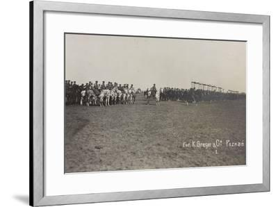 War Campaign 1917-1920: Military Mission in Poland (Warsaw - Posen) March-April 1919-K. Greger-Framed Photographic Print
