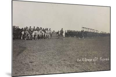 War Campaign 1917-1920: Military Mission in Poland (Warsaw - Posen) March-April 1919-K. Greger-Mounted Photographic Print