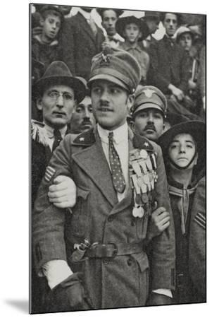 Visions of War 1915-1918: War Hero with Many Medals in the Chest-Vincenzo Aragozzini-Mounted Photographic Print
