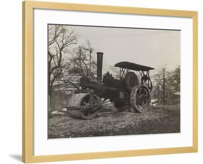 Compressor of the Italian Army During the First World War-Luigi Verdi-Framed Photographic Print