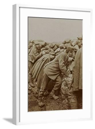 Campagna Di Guerra 1915-1916-1917-1918: Trenches in Santo Stefano--Framed Photographic Print