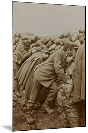 Campagna Di Guerra 1915-1916-1917-1918: Trenches in Santo Stefano--Mounted Photographic Print