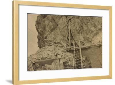 World War I: Ladders Centre 's Averau--Framed Photographic Print