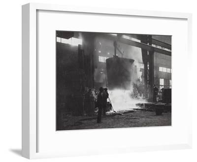 First World War: Foundry Italian Army--Framed Photographic Print