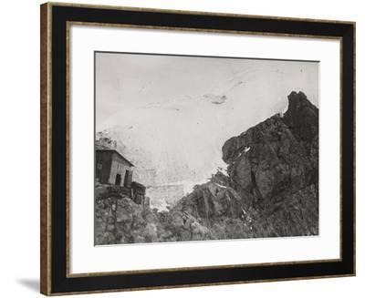First World War: the War Zone in the High Mountains Near Trafoi--Framed Photographic Print