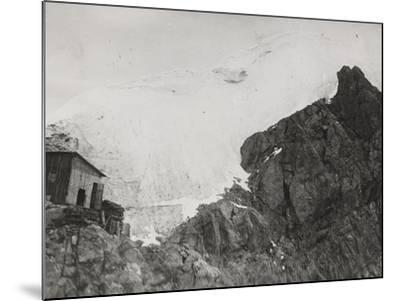 First World War: the War Zone in the High Mountains Near Trafoi--Mounted Photographic Print
