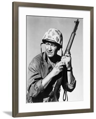 Sands of Iwo Jima, 1949--Framed Photographic Print