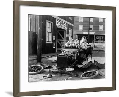 The Garage, 1919--Framed Photographic Print