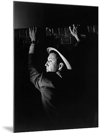 High Wall, 1947--Mounted Photographic Print