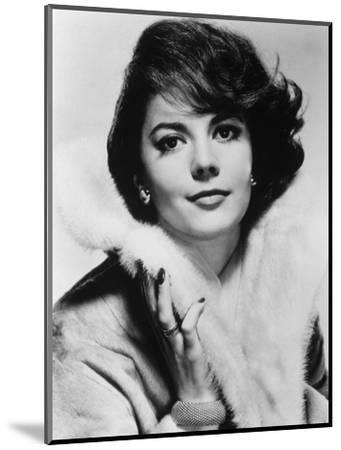 Natalie Wood--Mounted Photographic Print
