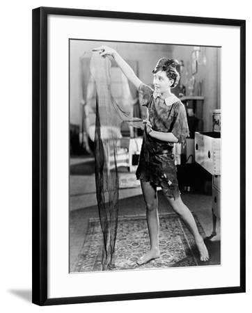 Peter Pan, 1924--Framed Photographic Print
