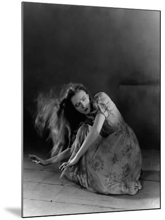 The Wind, 1928--Mounted Photographic Print