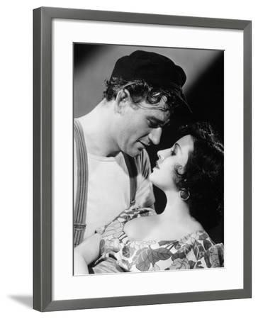 The Long Voyage Home, 1940--Framed Photographic Print