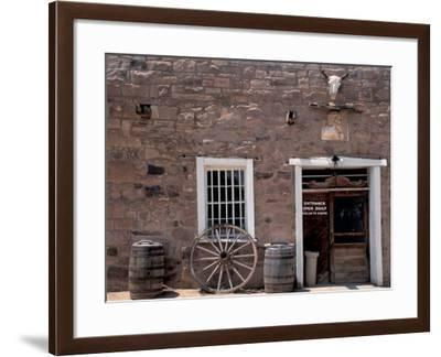 Hubbell Trading Post National Historic Site on the Navajo Nation Reservation, Arizona--Framed Photographic Print