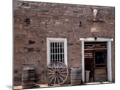 Hubbell Trading Post National Historic Site on the Navajo Nation Reservation, Arizona--Mounted Photographic Print