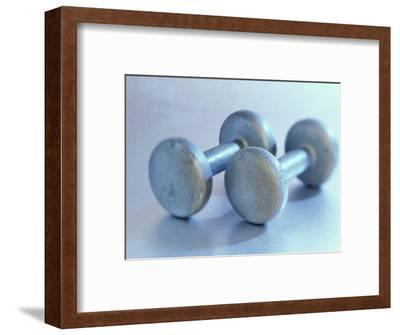 Still Life of Free Weights-Chris Trotman-Framed Photographic Print