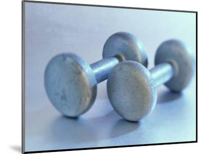 Still Life of Free Weights-Chris Trotman-Mounted Photographic Print