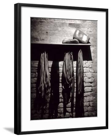 Boxing Equipment, New York, New York, USA--Framed Photographic Print