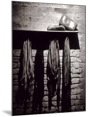 Boxing Equipment, New York, New York, USA--Mounted Photographic Print