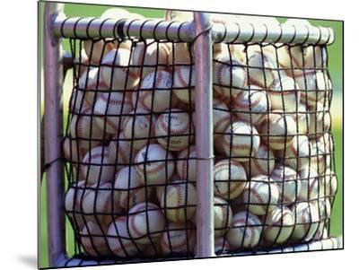 Baseballs--Mounted Photographic Print