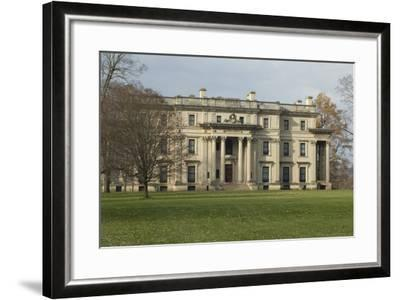 Vanderbilt Mansion in Hyde Park NY--Framed Photographic Print
