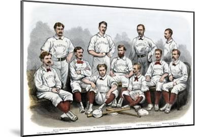 Boston Red Stocking Baseball Club of 1874--Mounted Photographic Print