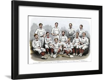 Boston Red Stocking Baseball Club of 1874--Framed Photographic Print