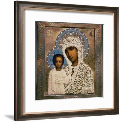 Russian Icon: Mary-Aleksandra Makhalova-Framed Photographic Print