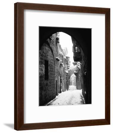 Jerusalem: Winter--Framed Photographic Print