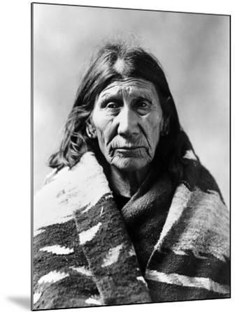 Mary Red Cloud, C1900--Mounted Photographic Print